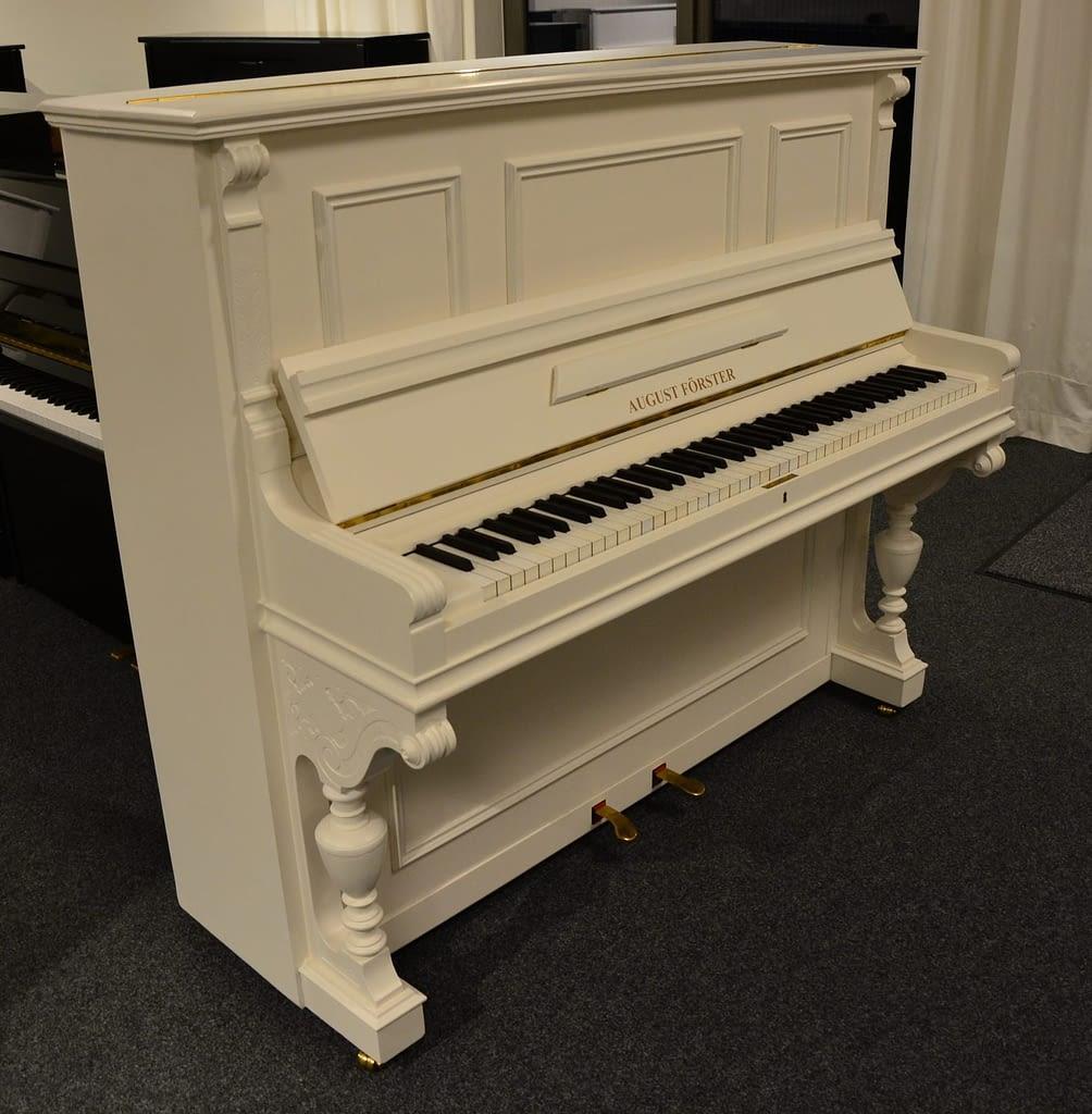 Förster Klavier, weiß
